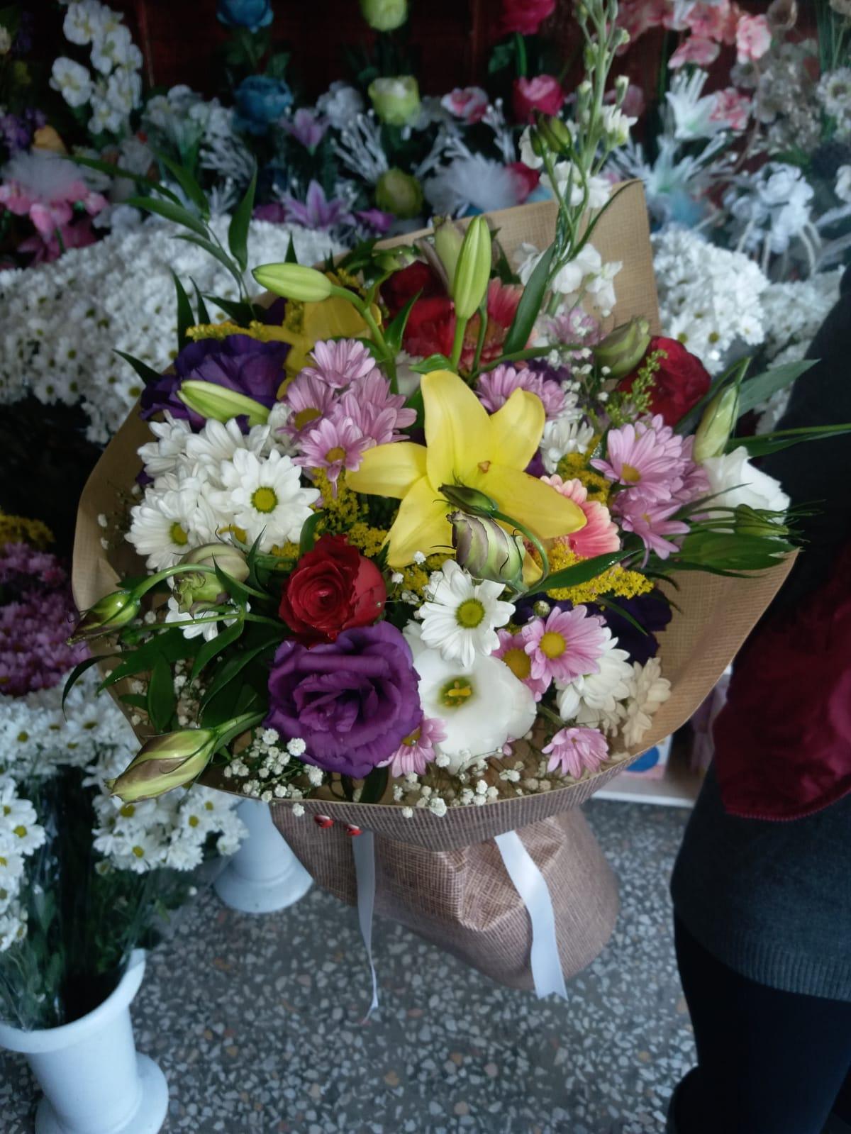 Karişik Mevsim Buketi Adiyaman çiçek Adıyamanda çiçekçi